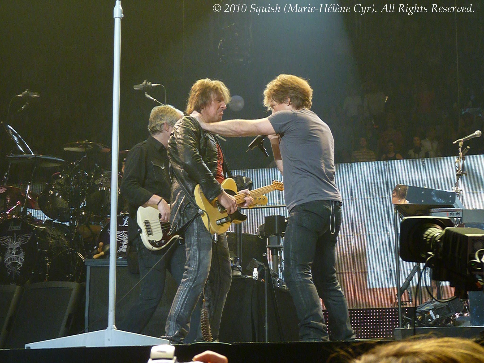 Bon Jovi - Centre Bell, Québec, Canada (20 mars 2010)